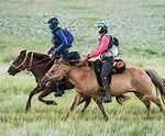Mongol Derby riders