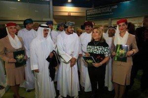 Lara Sawaya at the Oman Heritage Festival