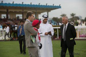 Lemartinel confers with O'Shea