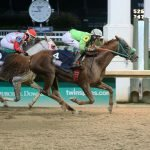 Quick and Rich takes the lead over the wire