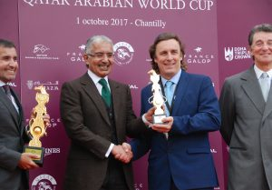 Trainer Smart and Mohammed bin Khalifa Al Thani