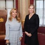 HRH The Countess of Wessex & Lara Sawaya