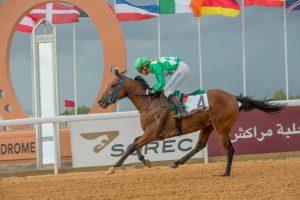 Lemartinel wins on Asraa Oum Rabie