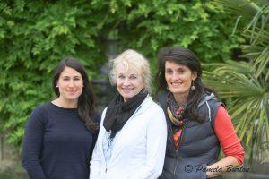 Flora LaBau, Pamela Burton, Marine Laulom