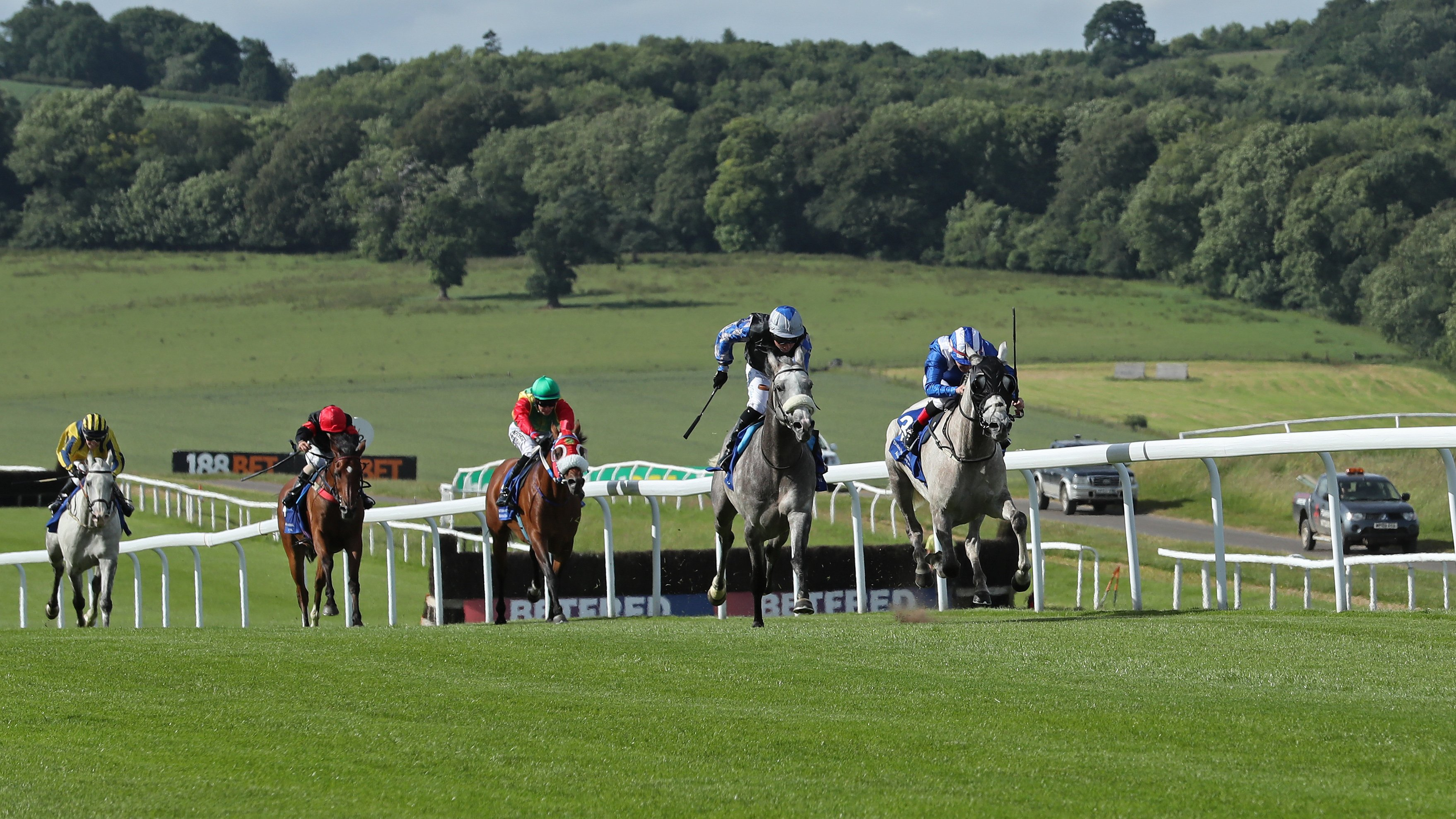 Chepstow's undulating course