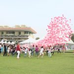 Pink Polo at Ghantoot
