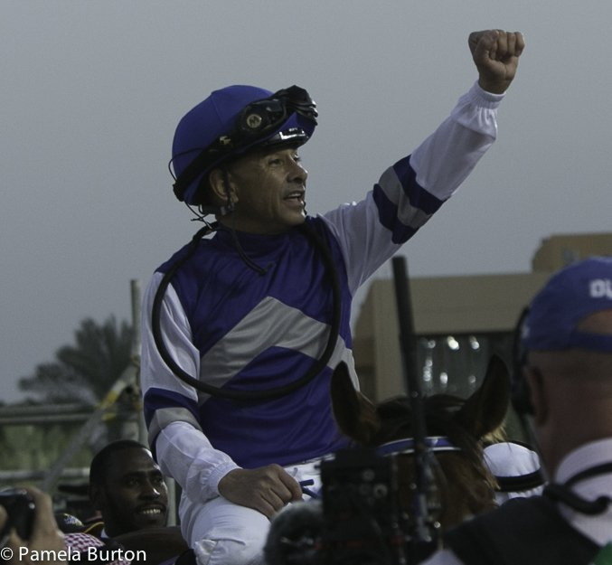 Mike Smith winner of Jockey Challenge